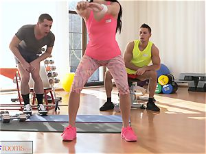 fitness apartments drool roast 3some plumbing and facial