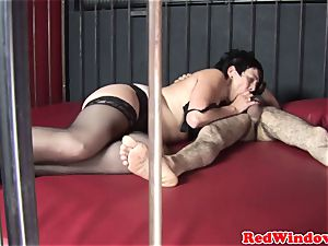 dickblowing dutch superslut blows client