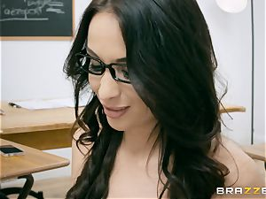ass fucking inserted cougar lecturer Anissa Kate in class