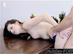 Nubiles-Porn mischievous secretary demands manhood And internal cumshot