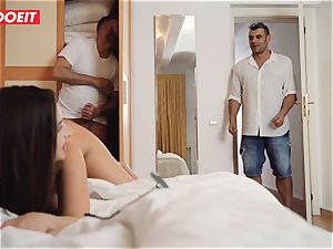 LETSDOEIT mischievous nubile Cheats And Gets Caught By paramour