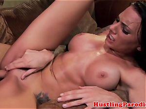 Juelz Ventura rides her housemates manhood