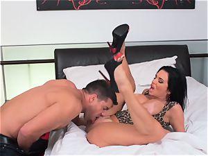 Milffest pt3 Veronica Avluv blows off rigid lengthy fuckpole