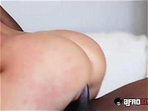 Kagney Linn Karter Gets plowed By a big black cock