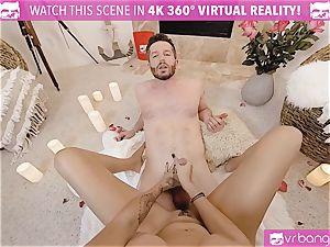VR pornography - Thanksgiving Dinner becomes crazy porking