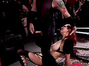 scorching victims throating and bang-out drilling
