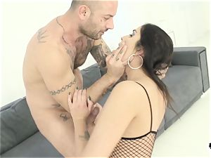 HER restrict - harsh plumb with splendid Hungarian black-haired