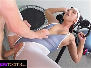 fitness apartments Morgan Rodriguez torn tights