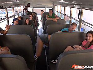 Public school bus gash beating Maddy OReilly