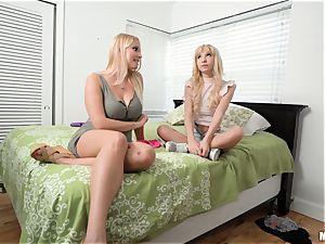 milf Vanessa cage and teenage Kenzie Reeves cunny screw