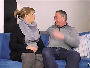 SexTapeGermany - German cougar banged in intercourse gauze