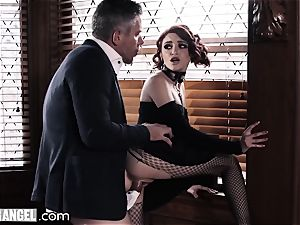 punk wanking In Detention is anally disciplined