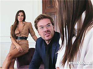 Kristi dark-hued debuts in an anal invasion 3 with Clea Gaultier