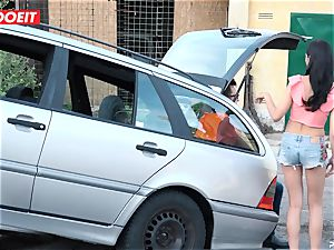 LETSDOEIT - teen humps old boy For Free Car Repair