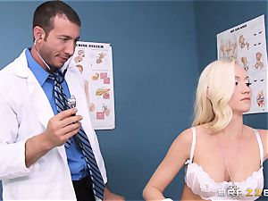 Madison Scott is perfectly cured by her dirty doctor