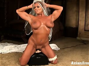sybian ride on her wedding day