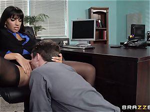 Mercedes Carrera plumbs her daughters boyfriend at work