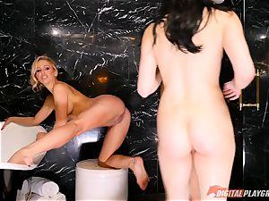 pleasing the dominatrix minge fuck-hole - Cherie Deville, Jojo smooch and Aria Alexander