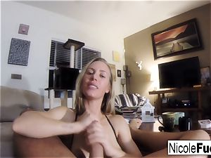 Home flick of Nicole Aniston providing a point of view inhale Job