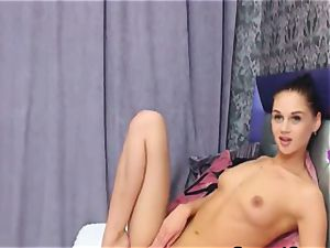 jaw-dropping smallish nymph Having demonstrate on webcam