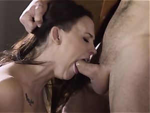 Spoiled pt two Chanel Preston gets her steamy twat handled