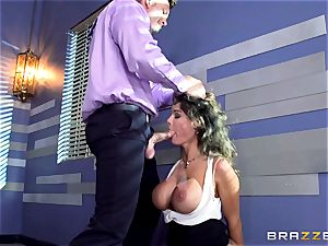 Peta Jensen gives her customer some serious fucky-fucky therapy