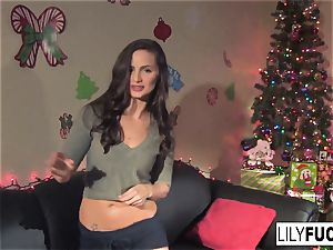 Lily tells us her wild Christmas dreams