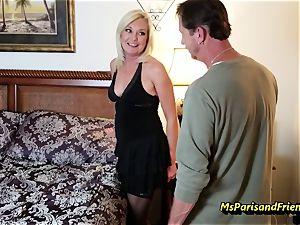Evan's Anniversary romp with Ms Paris Rose