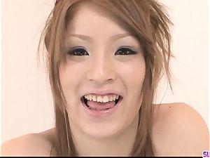 Nana Kinoshita sucks and pummels in ideal point of view