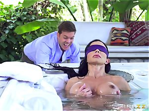 OMG! I screwed my hottest friend's huge-chested insane mummy beans Jade