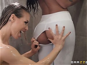 threesome with Nicole Aniston and Amia Miley