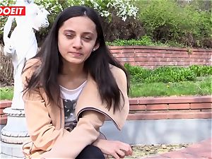 LETSDOEIT - naughty teen luvs kneading Her nub to ejaculation