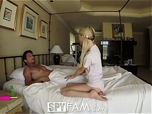 SpyFam Step daughter-in-law Piper Perri ravage and internal ejaculation
