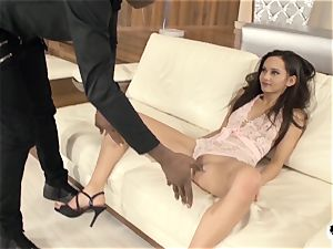 HER limit - rough anal and face penetrate with Shrima Malati