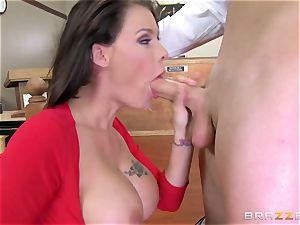 offender buxom wifey has sloppy fuck-a-thon with the prosecutor in the courtroom