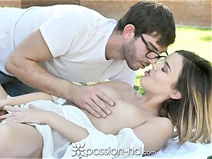 PASSION-HD sugary-sweet Sunny Day pummel with Dillion Harper