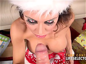 Jessica Jaymes - Christmas inhale cougar
