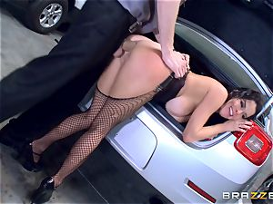 super-naughty mature Veronica Avluv arched over and banged