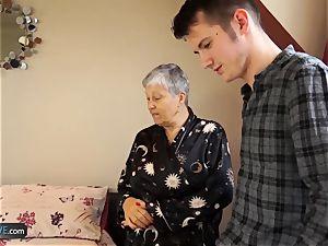 AgedLovE wild grannies hard-core romp Compilation