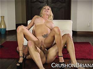 crush damsels - Briana Banks gets a superb rock-hard fucking