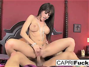Capri Needs A fine rock-hard pummel