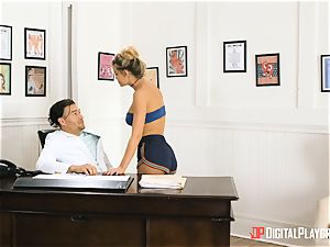 rump plunging with Jessa Rhodes in Xanders office