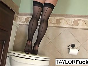 Taylor Vixen Looks additional super hot In black stocking