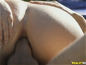 scorching butt Maddy OReilly riding spear