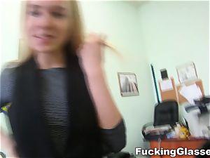 porking Glasses Chloe Blue smashing job interview