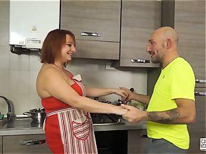 audition ALLA ITALIANA - Italian red-haired deep ass fucking fuck-a-thon