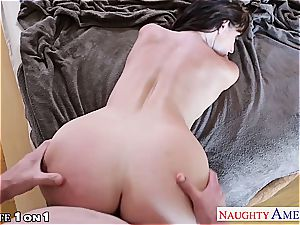 uber-sexy brown-haired housewife Sophie Dee fucking