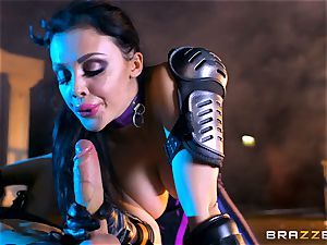 Aletta Ocean jammed with the monster man-meat of Danny D