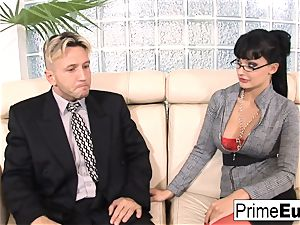 Aletta Ocean gets anally nailed on the bed