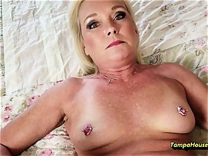 Ms Paris Rose and Her internal cumshot collection